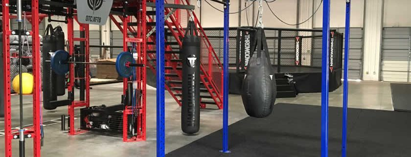 GlideBoxx Sports Training System In XFit Brands Showroom